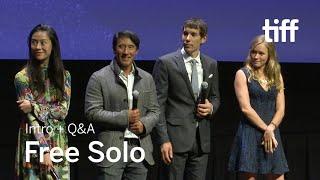FREE SOLO Cast and Crew Q&A | TIFF 2018