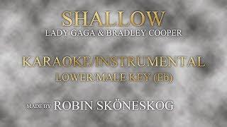 shallow karaoke lower key male only - TH-Clip