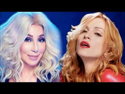 Cher & Madonna - I'm Hung Up on Gimme! Gimme! Gimme! [Mashup]