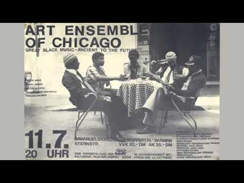 Art Ensemble of Chicago - Hail We Now Sing Joy online metal music video by THE ART ENSEMBLE OF CHICAGO