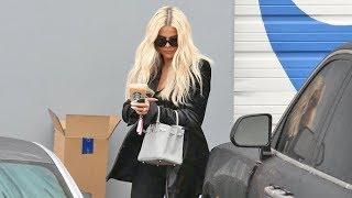 Khloe Kardashian Almost CRASHES Her Brand New $250K Rolls Royce!