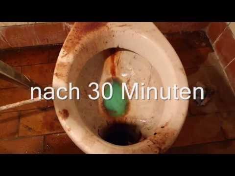 3 Komponenten Sanitär WC Reiniger