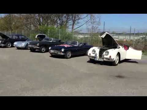 Video MG MGB B Cabrio Stoffdach RHD Rechtslenker