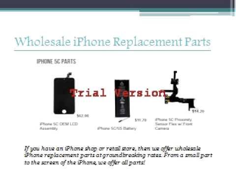 Wholesale iphone Parts