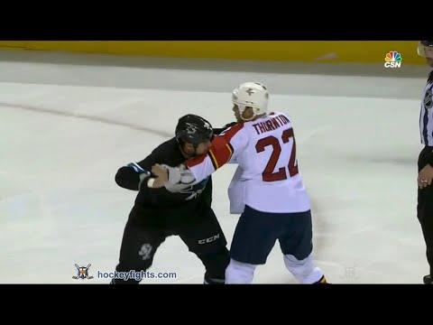 Micheal Haley vs. Shawn Thornton