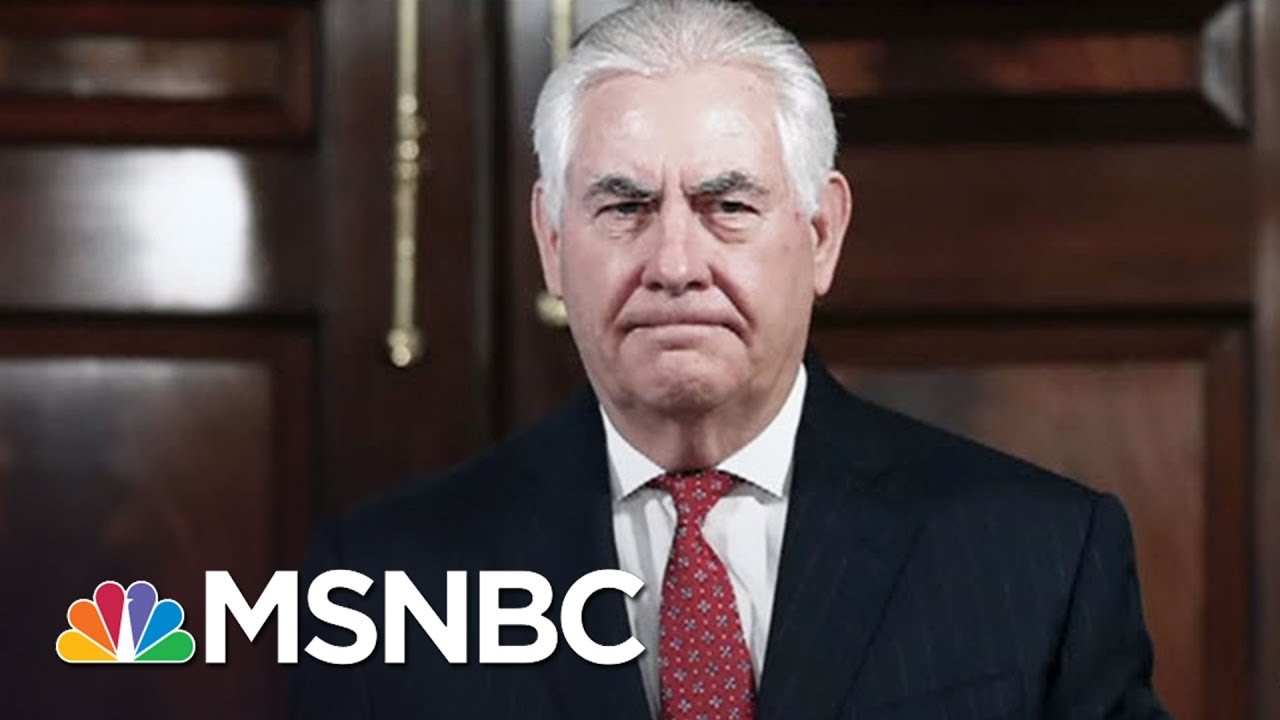 'Let Rex Tillerson Be Secretary Of State' | Morning Joe | MSNBC thumbnail