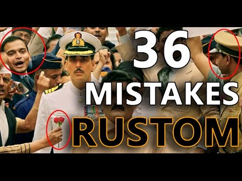 36 MISTAKES IN RUSTOM | Bollywood Logic | Mistakes Everyone Missed in Rustom | Bollywood mistakea