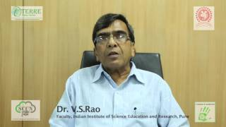 Dr. V S Rao, Faculty IISER