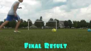 How to Bend or Curve a Soccer Ball like Beckham | HD Tutorial