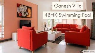 Ganesh Villa in Lonavala 4 BHK Pool Villa - Villastaylonavala.com