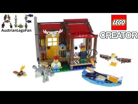 Vidéo LEGO Creator 31098 : Le chalet dans la nature