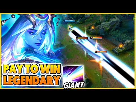 NEW PAY TO WIN LEGENDARY SKIN (GIANT LASERS) - BunnyFuFuu | League of Legends