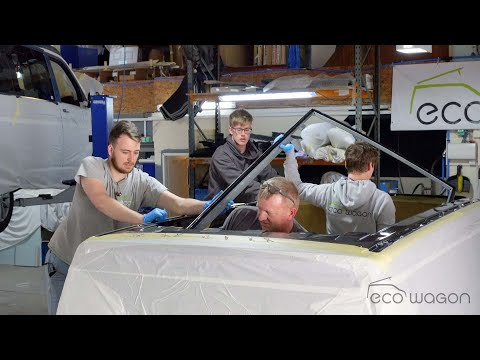 Installation Video of an SCA Pop Top Roof on a VW T6.1
