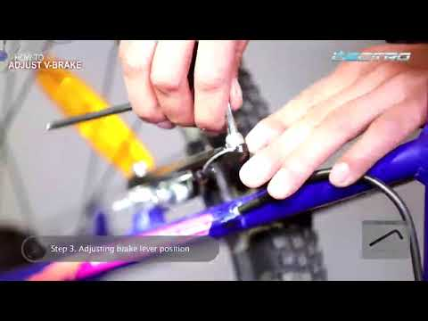 Hero Lectro e-cycle - How to adjust V Brake
