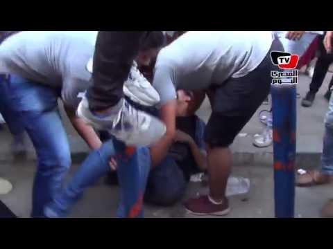 الأمن ينهي مظاهرة طلاب الثانوية العامة أمام «التعليم»
