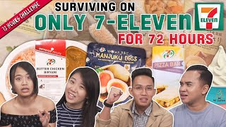 ONLY 7-11 Food and Drinks For 72 Hours! | 72 Hours Challenges | EP 12