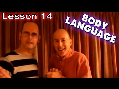 Learn English with Mr. Duncan - Lesson 14 (Body Language)