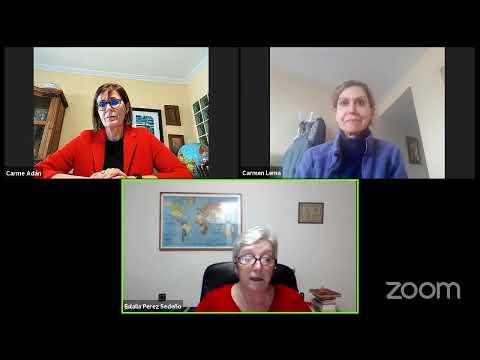Diálogo entre Eulalia Pérez Sedeño, Carmen Lema Devesa e Carme Adán