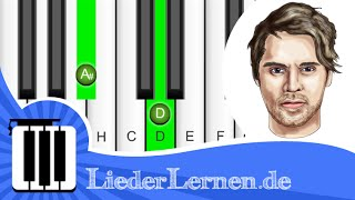 Johannes Oerding - Jemanden wie dich - Klavier lernen - Musiknoten - Akkorde