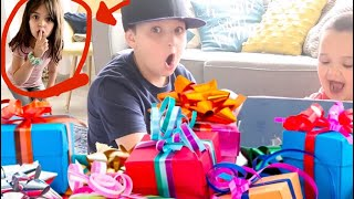 Bria SNEAKS OUT and Cody opens an EARLY BIRTHDAY PRESENT!