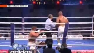 Орловчанин Денис Бойцов потерпел первое поражение на профессиональном ринге