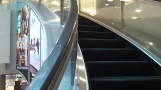 Rare Mitsubishi Curved Escalator at Wheelock Place, Orchard, Singapore
