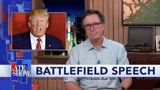 As His Popularity Plummets, Trump Teases Battleground State Location For RNC Speech thumbnail