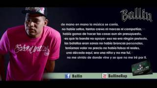 11 .- Recuerdos - (Lyric video) - Ballin ft  Leazzy (Nuevo)