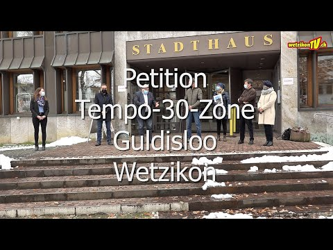 Petition Tempo-30-Zone Guldisloo