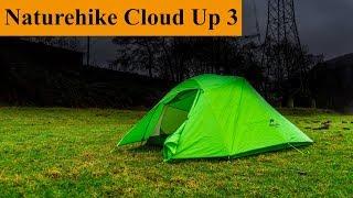 Naturehike Cloud UP 3 Review || Das Zelt zum Hiken und Bike Touren || Lucas Goes Bikepacking