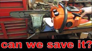 Free Echo CS 400 Chainsaw, Will it Run?