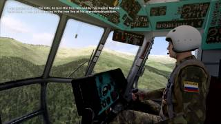 DCS Mi-8 - Attacking Rebels