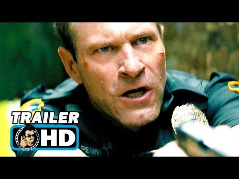 LINE OF DUTY Trailer (2019) Aaron Eckhart Action Movie