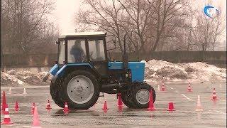 Будущие аграрии посоревновались в турнире механизаторов