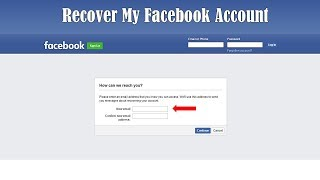 How to Recover Facebook Account Without Email and Phone Number | How to Reset Facebook Password