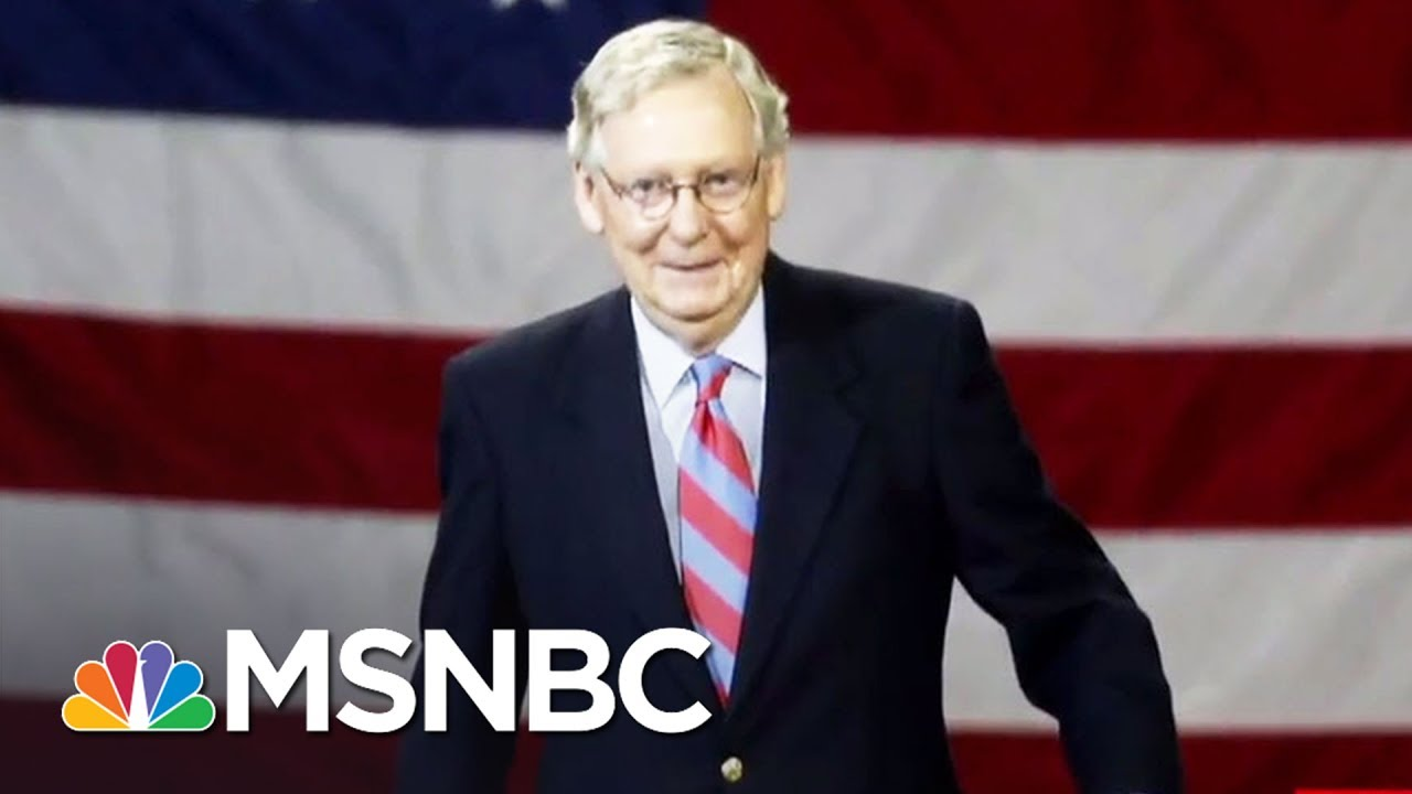 Chris Hayes Explains The 'Shameless' Mitch McConnell Doctrine | All In | MSNBC thumbnail