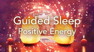 Geführte Schlafmeditation für positive Energie, Entspannung, Stressabbau-Meditation im Tiefschlaf