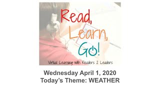 Read, Learn, GO! - Episode #2 (Weather)