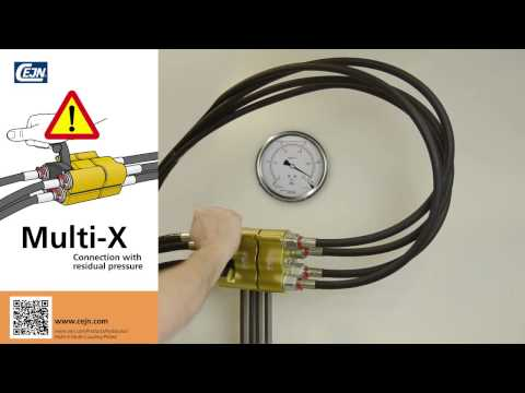 Multi-X Connection with residual pressure