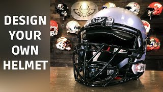 How To Customize Your Football Helmet | Speed Icon TX Blackout