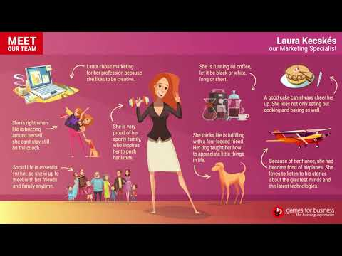 """Games for Business  - Meet Our Team: """"Laura"""""""