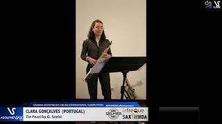Clara GONÇALVES plays Tre Pezzi by G. Scelsi #adolphesax