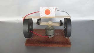 Free Energy Electricity Generator Using DC Motor With LED Light Bulbs - At Home 2018