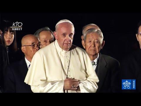 Le pape François à Hiroshima
