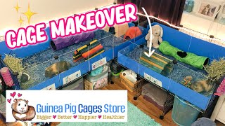 Building Guinea Pig C&C Cages | Guinea Pig Cages Store