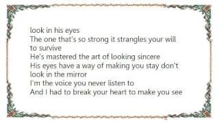 Chely Wright - Shut Up and Drive Lyrics