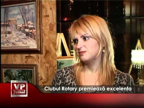 Clubul Rotary premiează excelenţa