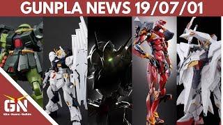 Gunpla News: 1/100 Barbatos, Penelope, GM Dominance, NU, Metalbuild EVA 02