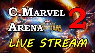 Cap Marvel Arena - Part 2 | Marvel Contest of Champions Live Stream