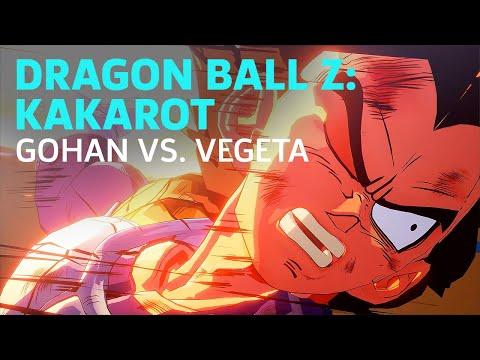 Dragon Ball Z: Kakarot - Gohan vs. Vegeta Boss Fight (Saiyan Saga)